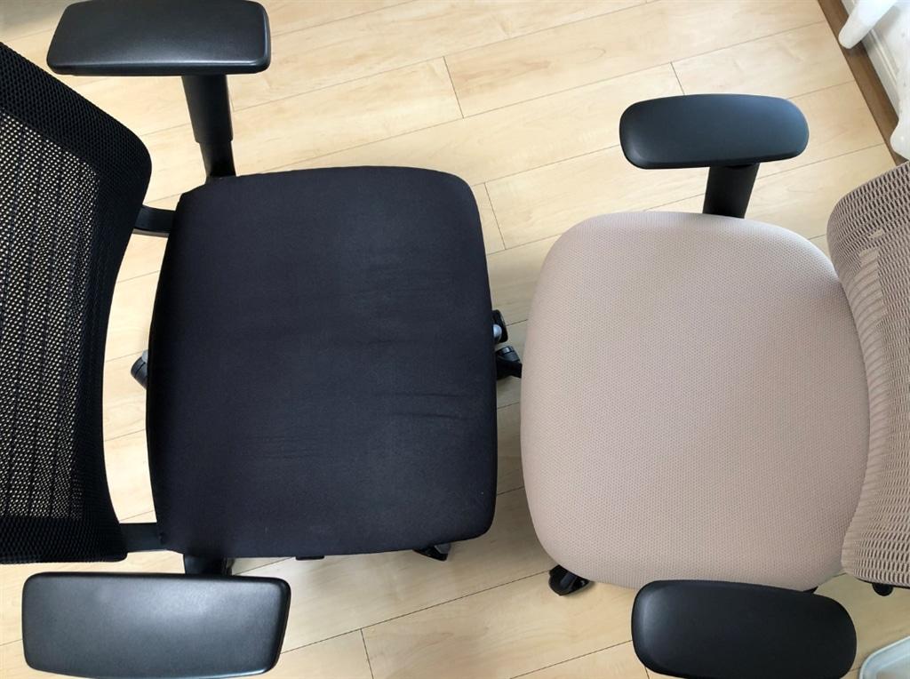 シンクチェアとシルフィーの比較|座面