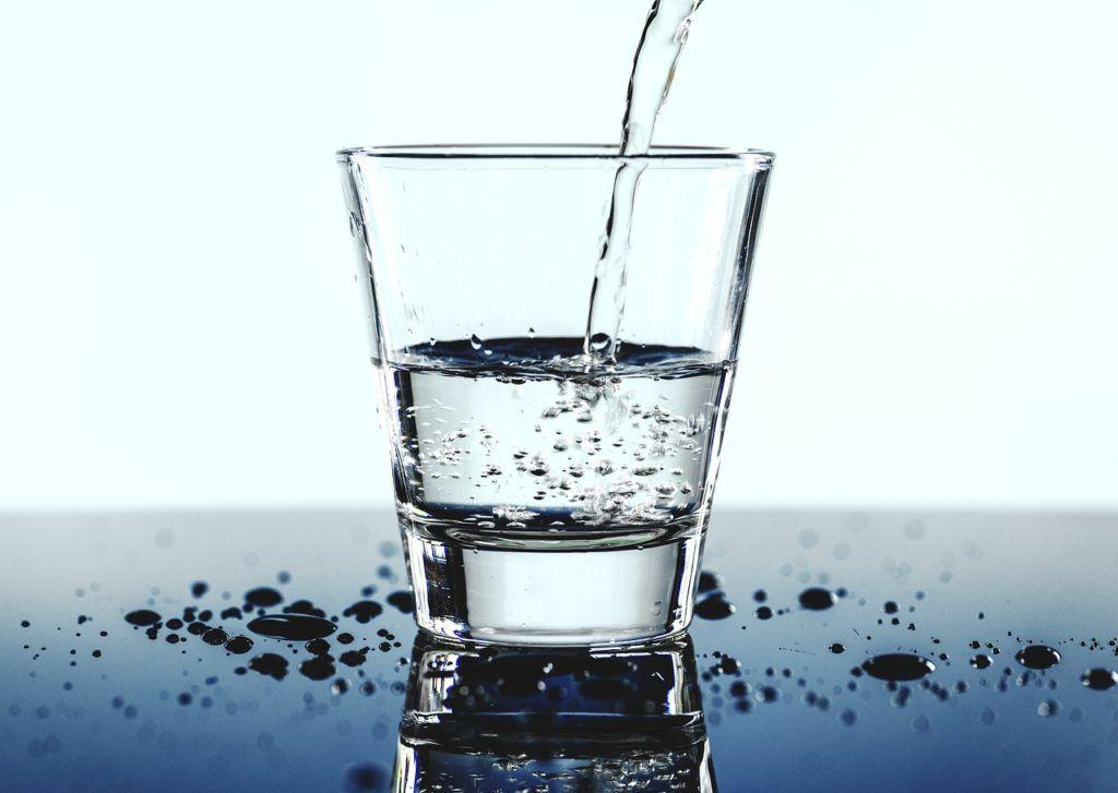 水の量で体脂肪率が変わる