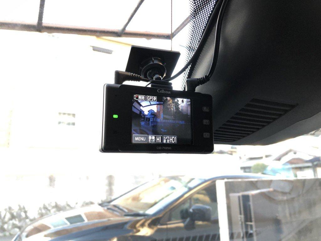 セルスターのドライブレコーダーのレビュー