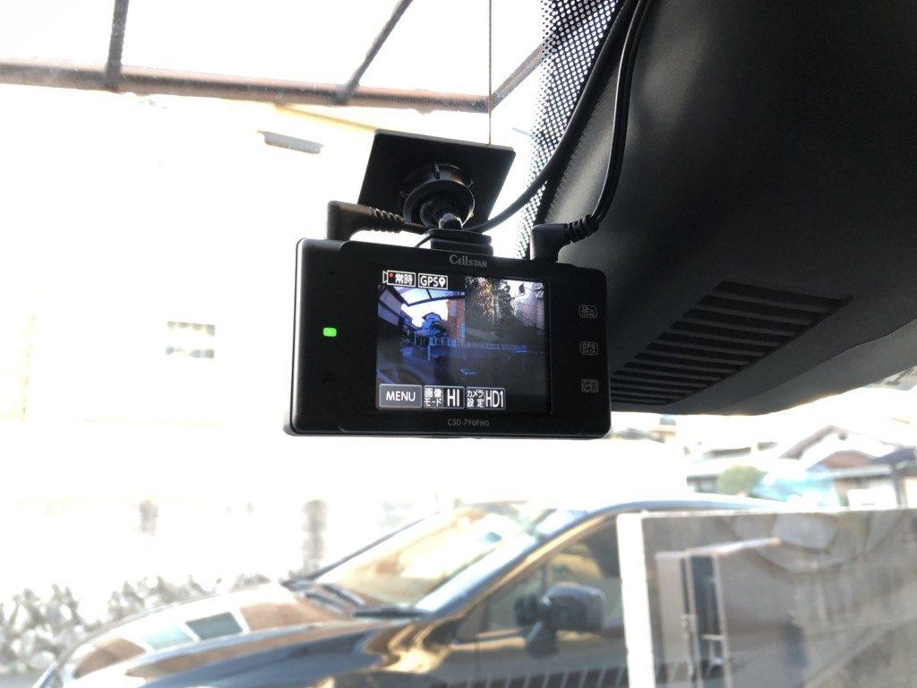 CSD-790FHG フロントカメラ取り付け
