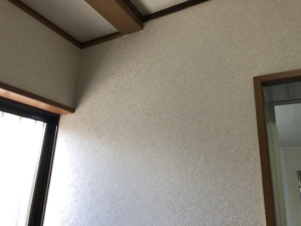 洗面所を一周壁紙張替え