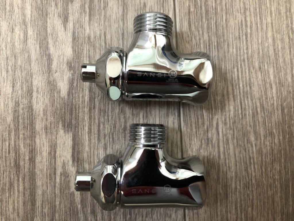 止水栓交換のために新品を購入
