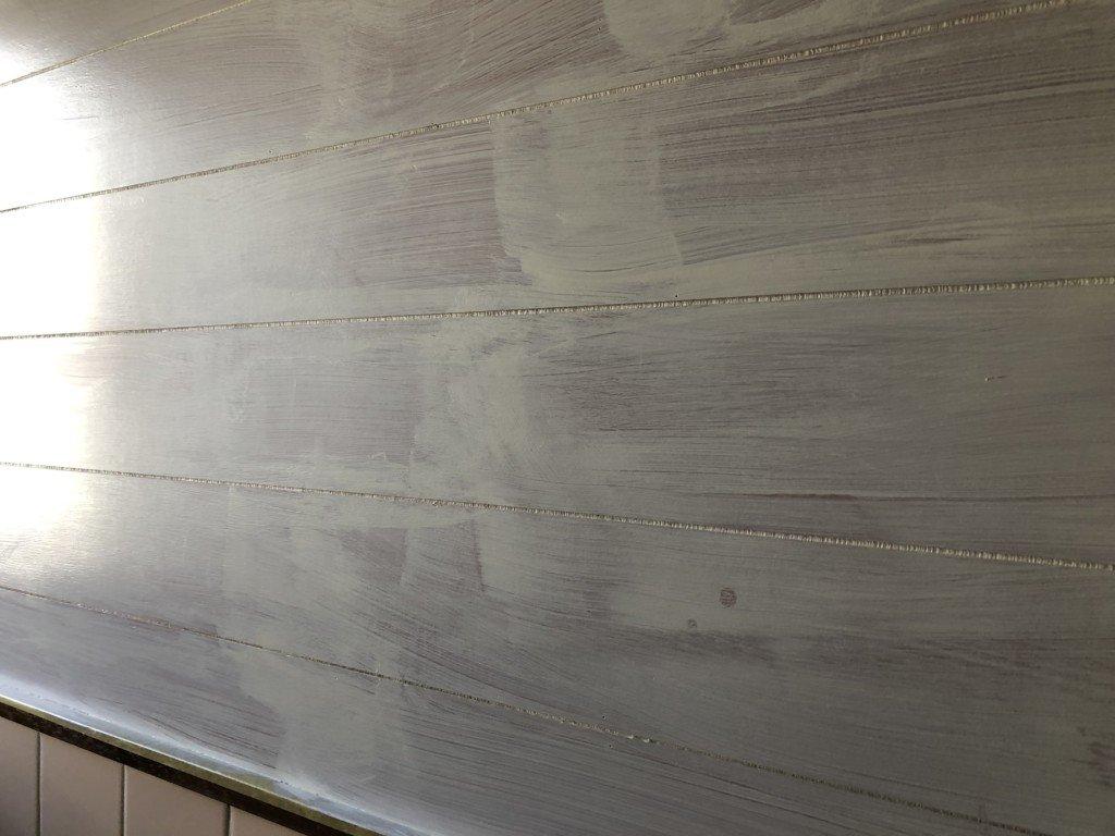 トイレの壁|一度塗り
