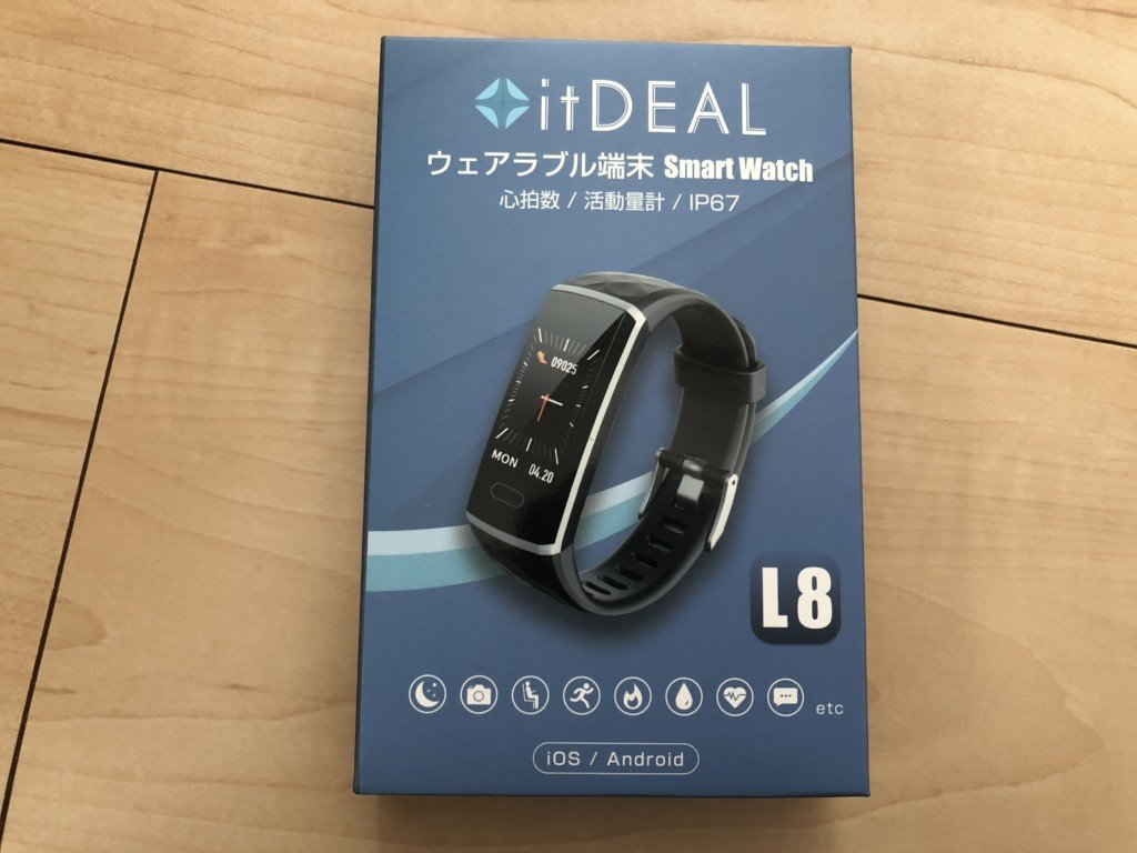 itDEAL L8 スマートウォッチ 2019年モデル