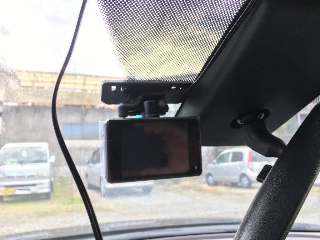 アテンザにドライブレコーダーを取り付ける