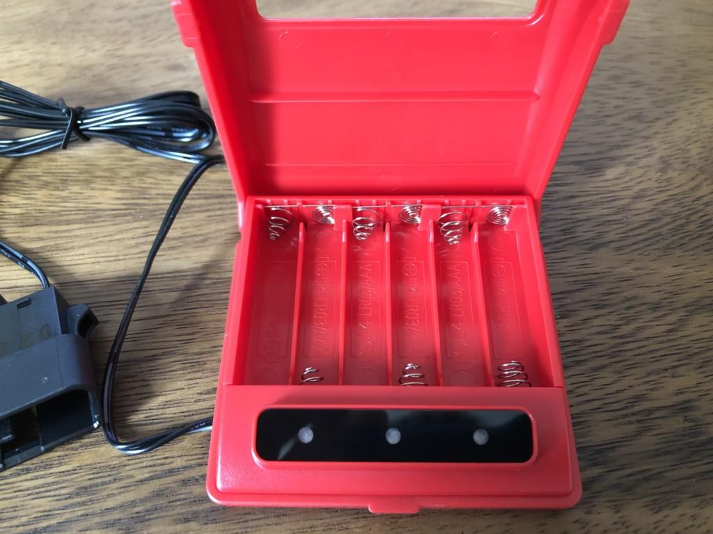メモリーキーパーの電池