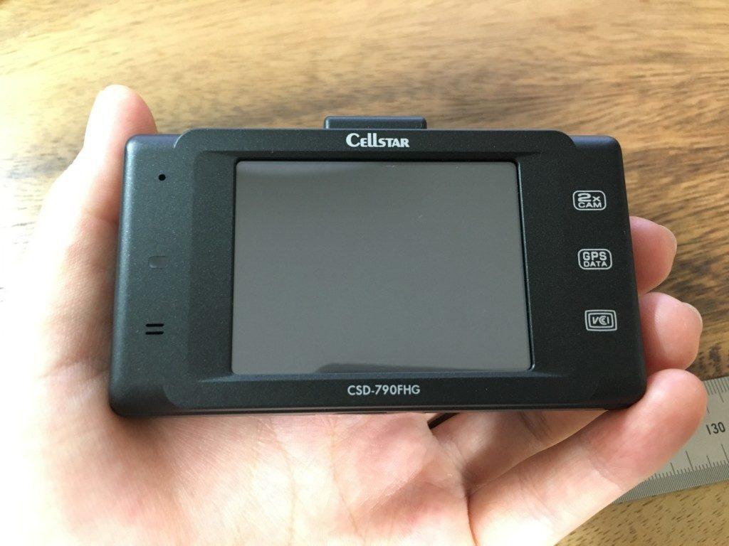 セルスター CSD-790FHG|フロントカメラ