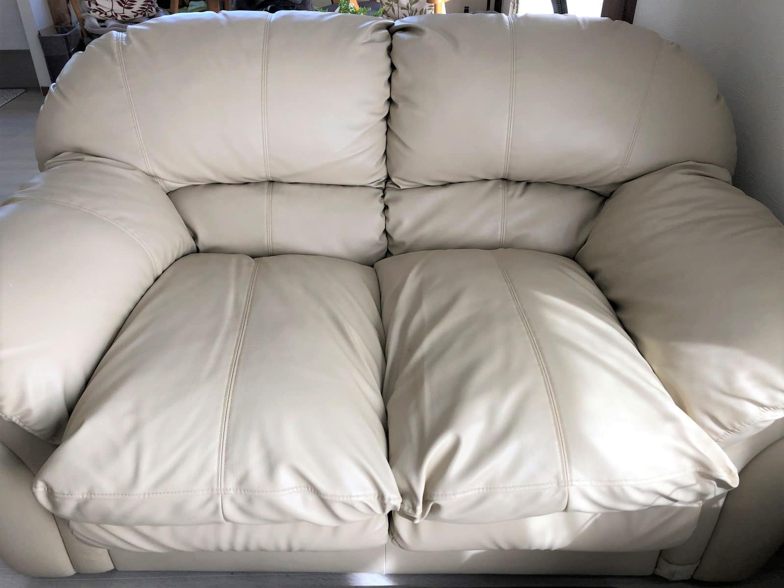 二人掛けソファーのウレタンが復活